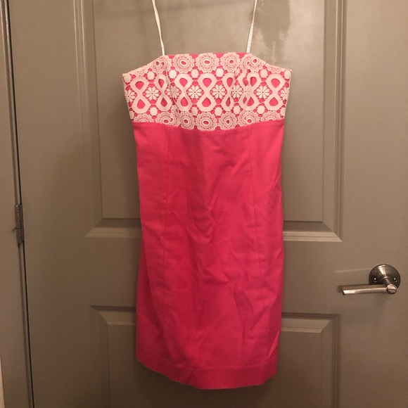 Lilly Pulitzer Dresses & Skirts - Lilly Pulitzer Size 4 Strapless Dress